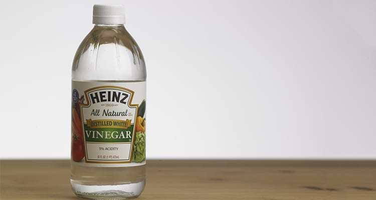 cleaning milk odour with vinegar