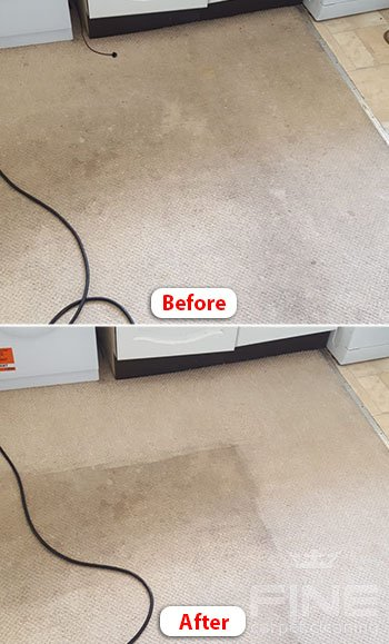 carpet steam cleaning london compare before after image